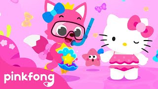 Baby Shark, featuring Hello Kitty   Hello, Friends!   Baby Shark Song   Pinkfong Songs for Children