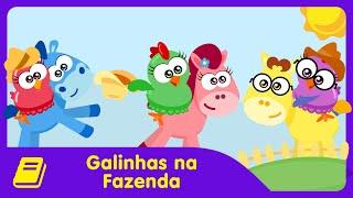 Galinha Pintadinha Mini - Historinha - Galinhas na Fazenda