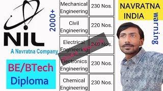 NIL recruitment 2018 | navratna india hiring engineers & diploma holders : KUCH BHI !!!