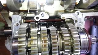 2005 Yamaha FZ6 S Transmission Exposed