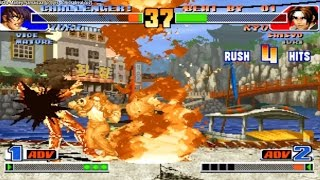 Kof 98 BOB-Marley--jamaicaa (brasil) vs Junior_Leal (brasil) Fightcade