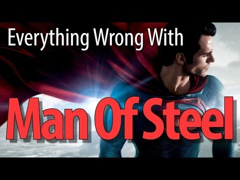 Everything Wrong With Man Of Steel In 8 Minutes Or Less