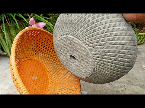 How To Make Cement Pots | Simple & Easy DIY Flower Pot Designs