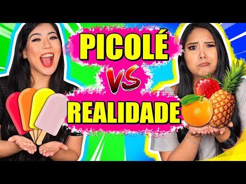 DESAFIO PICOLÉ VS REALIDADE | Blog das irmãs