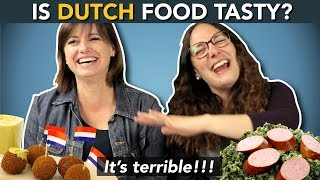 DUTCH CUISINE!? ...what Do Foreigners Think About DUTCH FOOD?