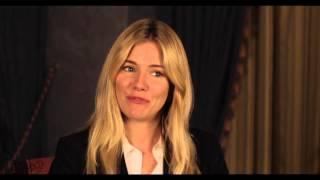"Unfinished Business: Sienna Miller ""Chuck Portnoy"" Behind the Scenes Movie Interview"