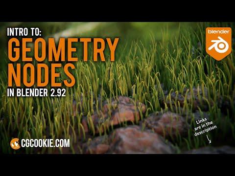 Blender Geometry Node Basics In Blender 2.92 | Tutorial