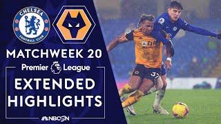 Chelsea v. Wolves | PREMIER LEAGUE HIGHLIGHTS | 1/27/2021 | NBC Sports