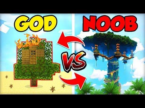 NOOBOVSKY DŮM NA STROMĚ vs. GOD STROM (OBRÁCENĚ!)
