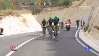 Vea como logro podium Esteban Chaves en España 2016 -Subtitulos en Español.