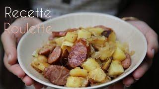 Poêlée de pommes de terre et saucisse fumée !