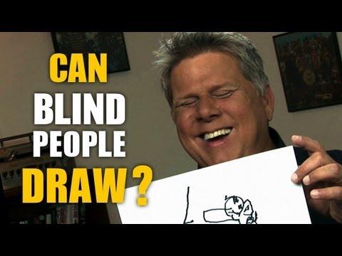 Tommy Edison: Umí slepí kreslit?