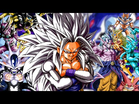 The LEGEND of SSJ5!   Dragon Ball AF (Young Jijii)   COMPLETE STORY