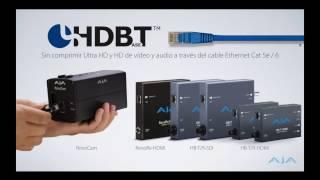 Webinar: Sistemas HDR, HDBaseT, broadcast IP, 4K Ultra HD y multi can
