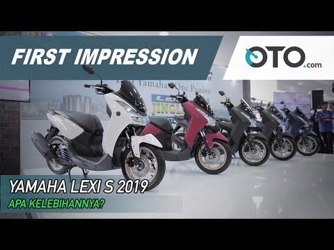 Yamaha Lexi S ABS 2019 | First Impression | Sentuhan Warna Baru | OTO.com