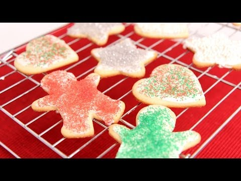 Cutout Sugar Cookie Recipe – Laura Vitale – Laura in the Kitchen Episode 688