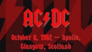 AC/DC - Fling Thing/Bonny - Live