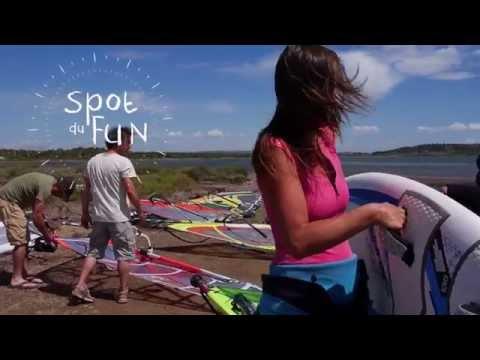 Windsurf kitesurf Camping Le FUN