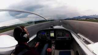 preview picture of video 'Shpetim Spahija First Solo Flight PS-28 Cruiser'