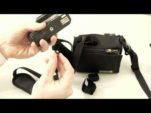 Kameragurt mit Tasche Blackrapid SnapR - für EVIL & Kompaktkamera - by www.enjoyyourcamera.com