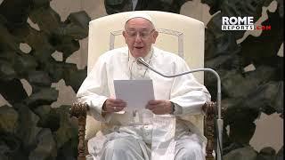 El Papa explica la relación entre las Bienaventuranzas y el Padrenuestro