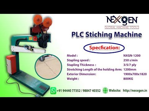 PLC Corrugated Box Stitching Machine
