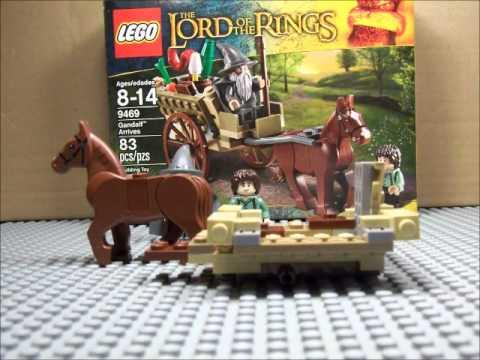 Vidéo LEGO Le Seigneur des Anneaux 9469 : L'arrivée de Gandalf