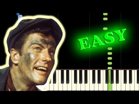 MARY POPPINS - CHIM CHIM CHER-EE - Easy Piano Tutorial