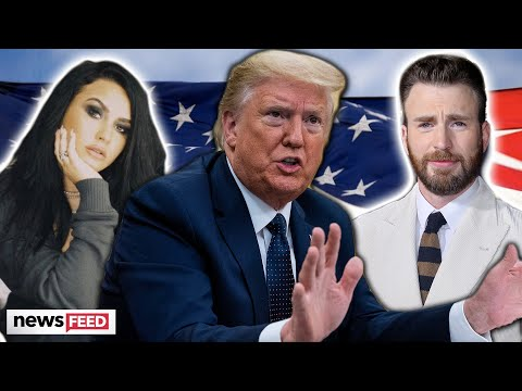 Celebs FREAK OUT On Trump's Claims He's Being 'Cheated'