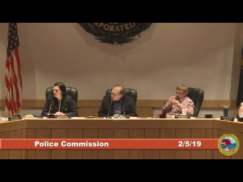 Police Commission 2.5.2019