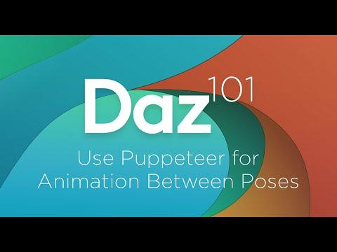 Animation without animation blocks - Daz 3D Forums