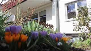 preview picture of video 'Der Sommer kann kommen ... Gartenterassenwohnung mit Garage'