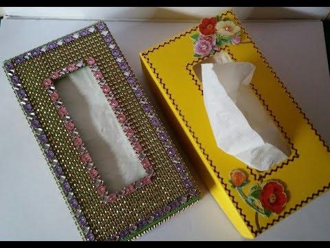 Box basteln für Kosmetiktücher , Kosmetikbox