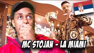 BALKAN MUSIC REACTION | MC STOJAN   LA MIAMI (OFFICIAL VIDEO) 4K