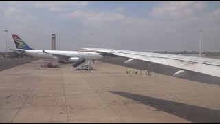preview picture of video 'Take Off Lilongwe International Airport, Malawi  - Kenya Airways Boeing 777 [HD]'