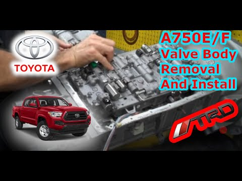 Фото к видео: IPT Performance Transmissions A750E/F Valve Body Installation