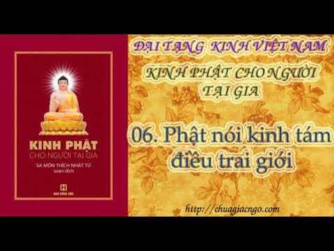 K22 - 06. Phật nói kinh tám điều trai giới
