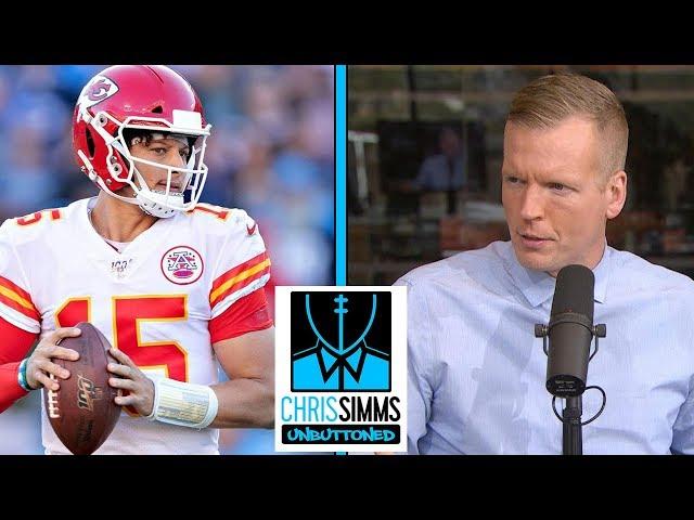 NFL Divisional Round: Best QB matchup, Titans vs. Ravens | Chris Simms Unbuttoned | NBC Sports