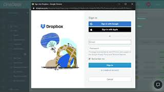 Integrating Dropbox with OneDesk