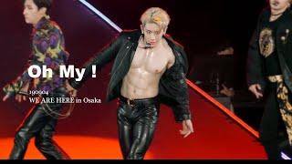 [4k] 190904 WE ARE HERE in Osaka Oh my  ! (몬스타엑스 원호 focus) monsta x wonho