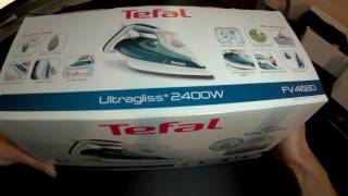 Tefal FV4680 Dampfbügeleisen - Unboxing - Deutsch/German