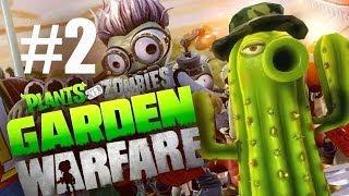 КАПИТАН ПРАЙС! #2 Plants vs Zombies: Garden Warfare (HD) играем первыми