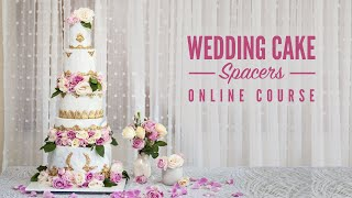 NEW ONLINE COURSE - Wedding Cake  Flower Spacers - ON SUGAR GEEK SHOW