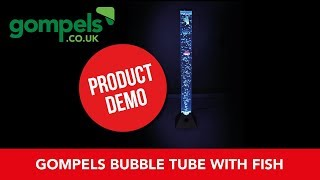 Product Demo - Gompels Bubble Tube With Fish 90cm