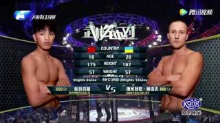 Tibetan fighter VS Ukraine Fighter