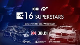 Gran Turismo Sport Top 16 Superstars - Round 20 - EMEA Region [English]