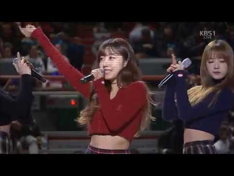 170122 KCC Basketball All Star Apink - Cause You're My Star, Only One