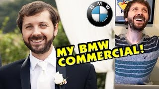 MY BMW COMMERCIAL Reaction!