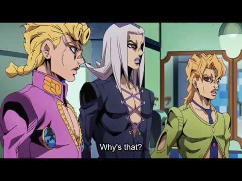 JoJo's Bizarre Adventure Golden Wind: Episode 9 Fugo and Narancia heals  Mistas wound - AbridgedBullshit