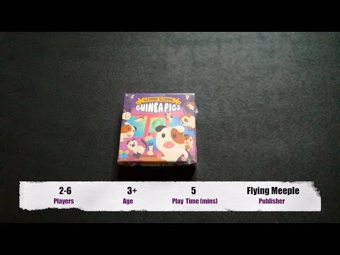 Gimme Gimme Guinea Pigs - Unboxing & How To Play
